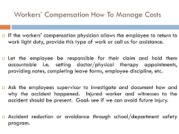 Workers Compensation Family Medical Leave And The Americans With