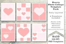 8 X 10 Heart Template Classic Album 8 X 10 Album Template 8 X 10 Photo Album Template
