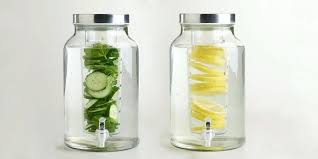 water dispensers glass drink dispenser with metal spout