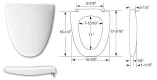 17 inch toilet seat. click here to view dimensions of the ellisse seat 17 inch toilet m