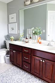 cleaning your bathroom on a daily basis is an easy habit that should only take a