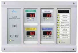 medical gas pipeline amico combination alarm systems compact master