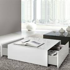 white and black coffee table with shelves rugs apartment glass windows book top table also white