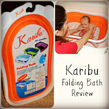 karibu folding bath review karibu collage