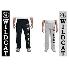Gildan Open Bottom Sweatpants Size Chart Wildcat Ski Team Gildan Heavy Blend 8oz Open Bottom
