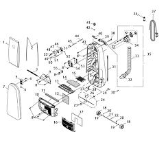 riccar 8955 parts & vacuum repair diagrams Vacuum Cleaner Motor Wiring Diagram Inside a Vacuum Cleaner