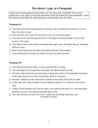 Ewrt1A Reader Writing Resources