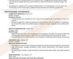 Fabulous Example Resume Title In Adorable Good Example Of Resume