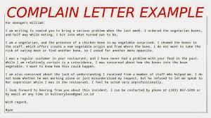 complaint letters pdf letter should be written letters suggest complaint letter example samples business letters