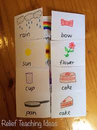 Compound Words Foldable Chart Working Compound Words