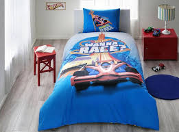 details about hot wheels race disney 100 cotton bedding set single twin fast