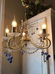 murano venice murano italy venetian glass with crystal chandelier 1 crystal