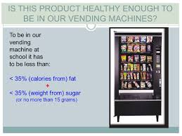 Vending Machine Nutrition Facts Fascinating Objective 4848 Evaluate Nutrition Facts Label With The Advertisement