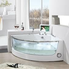 bathtubs idea corner bath tubs 48x48 corner tub white and glass corner whirpool jauczzi with