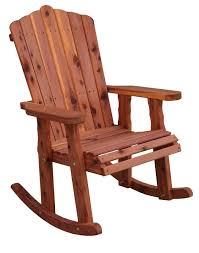 Amish Outdoor Adirondack Rocking Chair