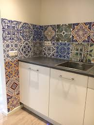 Kitchen Backsplash Wallpaper Happy Customers Behangfabriek
