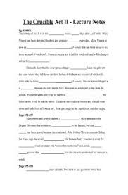 the crucible act ii fill in the blank study guide document  the crucible act ii fill in the blank study guide document for teachers