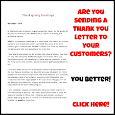 direct s consultants did you say thank you thanksgiving great idea for a christmas thank you thank you letter for your direct s customers
