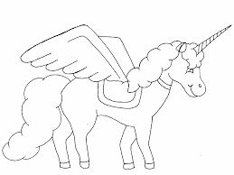 Small Picture Baby Unicorn Coloring Pictures Coloring Coloring Pages