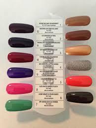 Opi Gel Nail Colors Chart Papillon Day Spa