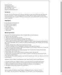 Resume Templates: Core Java Developer