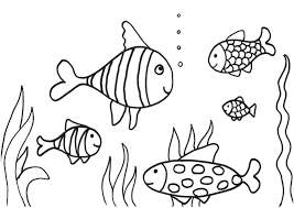 Printable Coloring Pages color pages of fish : Fish Coloring Pages For Adults Archives Within Printable Coloring ...