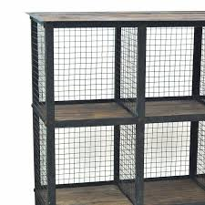 industrial metal and wood furniture. Industrial Metal And Wood Bookcase - The Rustic Furniture Store
