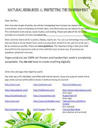 ecology and choice student projects for earth day scholastic earth day project ideas earth day family letter