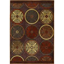 home decorators collection clay red 5 ft 1 in x 7 ft 6 in area