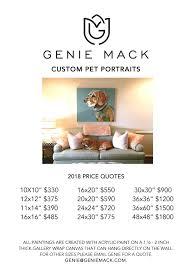 Microsoft Word Price List Microsoft Word Gm Pet Portrait Price List 2018 Docx Genie Mack