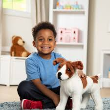 Jack Russell Terrier Dog Giant Stuffed ...