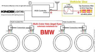 bmw installing instructions for multi color halo angel eyes by 15 crank up your bimmer and wholaaa time to grab that beer