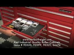 tool box organizers harbor freight. red industrial quality roller cabinets - harbor freight tools youtube tool box organizers