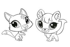Littlest Pet Shop Coloring Pages Free Coloring Sheets