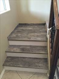 floor covering for stairs stagger porcelain wood look tile design and build interior 23