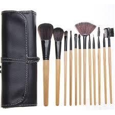 super soft hair bittb 12pcs studio makeup brushes powder foundation face eye makeup brush set kit blush lip eyebrow