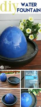 diy this modern water feature for your small garden or outdoor seating area the tutorial is here