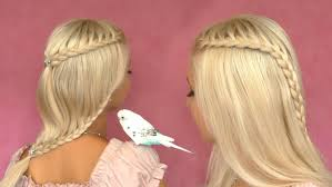 Lace Hair Style French Lace Braid Tutorial Cute Hairstyle For Short Medium Long 1294 by wearticles.com
