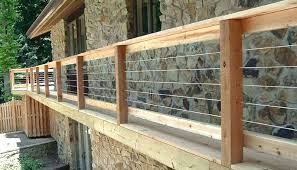 steel cable railing. Stainless Steel Cable Railing Kits Metal Deck Systems Rail Vertical Kit For Home Improvement N