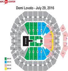 Honda Civic Center Seating Chart