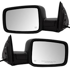 13-17 RAM 1500 2500 Pickup Truck Set of Side View Power Mirrors 6x9 ...