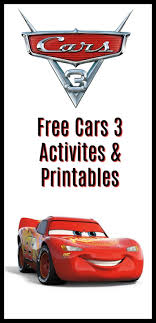 Free Cars Printables Get Your Free Cars 3 Activities Printables Here Disney Free