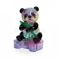 <b>Crystal Puzzle</b> Art.<b>9055A</b> Panda 3D Трехмерный <b>пазл</b> с подсветкой