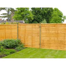 forest lap fence panel 6x5ft fence n78 fence