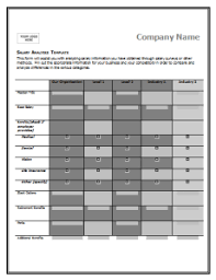 Comparison Chart Template Word Salary Comparison Chart Template Payslips Compare