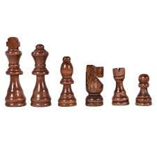 costway 15 standard game wooden chess set pieces magnet portable hand carved board box