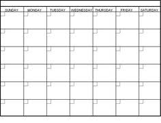 monthly calenar printable blank monthly calendar activity shelter calendar