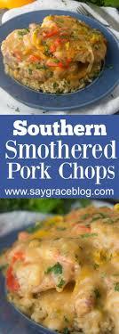 The Chew  Recipe  Recina Gilbertu0027s Smothered Pork Chops With Country Style Smothered Pork Chops