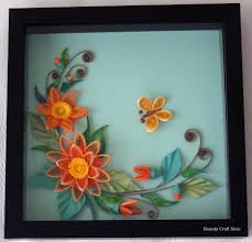 Paper Quilling Flower Frames Beauty Craft Sissi Creates Different Kind Of The Handmade Crafts