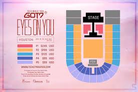 Houston Arena Seating Chart